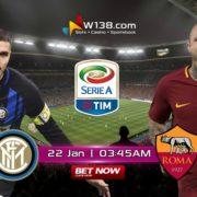 Inter Milan vs Roma - W138