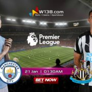 Manchester City vs Newcastle - W138