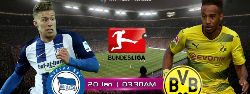 Hertha Berlin vs Dortmund