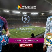 Paris Saint Germain vs Real Madrid
