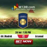 Alt Madrid vs Arsenal