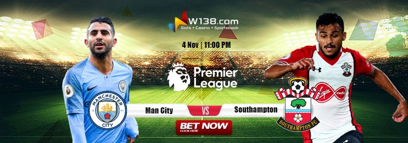 man c vs Southampton
